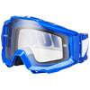 100% Accuri Goggle Anti Fog Clear Lens / reflex blue